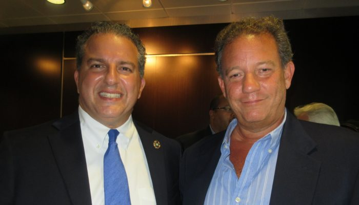 George Sigalos and Jimmy Patronis